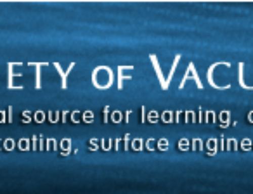 May 10 -13th 2016- Society of Vacuum Coaters